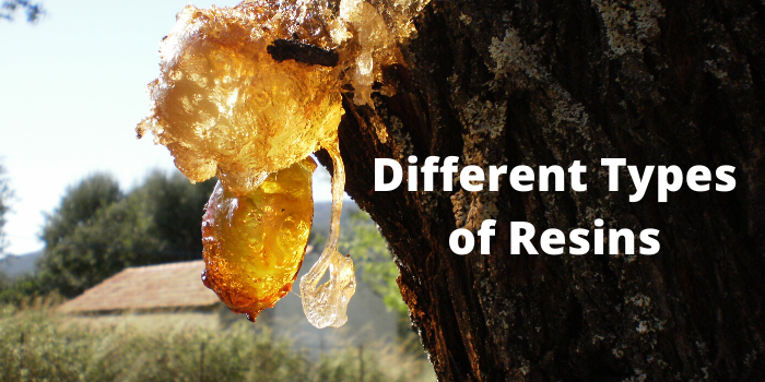 Different Types of Resins